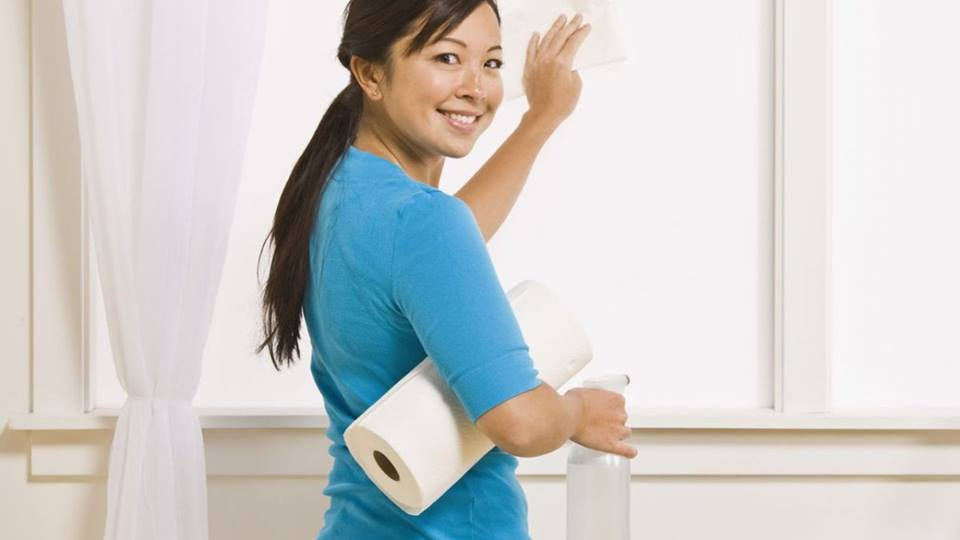 Hire a profession maid to make your house pristine clean.